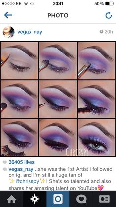 pink and bright eye shadow