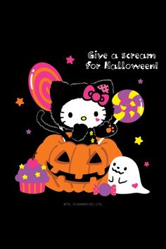 Hello Kitty ♥ Give a scream for Halloween. ♥ – My WordPress Website
