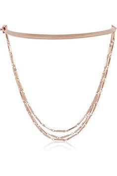 Eddie Borgo | Rose gold-plated necklace | NET-A-PORTER.COM
