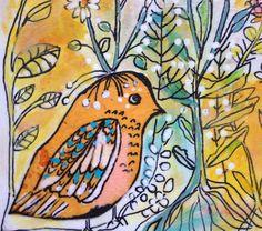 little bird by artfullyamuse on Etsy