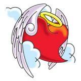 Winged Angel Heart Tattoo