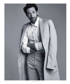 Houdini Star Adrien Brody for Esquire   The Big Black Book Mexico image adrien brody big black book photos 008