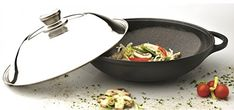 EurocastBerghoff Professional Cookware 1225 Chinese Covered Wok with Lid >>> Check out this great product.