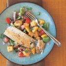 Try the Panfried Trout with Warm Corn Bread Salad Recipe on williams ...