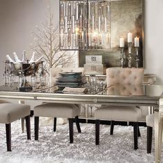 Dining Room Furniture – Gorgeous Dining Room Design Ideas That Will Perfect it Dining Room Design, Dining Room Furniture, Dining Room Table, Furniture Design, Rooms Ideas, Beautiful Dining Rooms, Dining Room Inspiration, Furniture Inspiration, Interiores Design