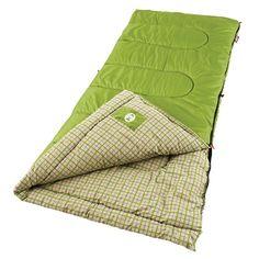 Coleman - Lightweight Sleeping Bags | Lightweight Sleeping Bag | Coleman - Green Valley™ Cool Weather Sleeping Bag-$45