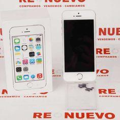 #IPHONE #APPLE #5S Libre #16GB E266122 de segunda mano | Tienda de Segunda Mano en Barcelona Re-Nuevo #segundamano