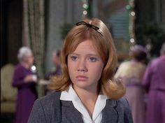 Hayley Mills as Mary Clancy in The Trouble With Angels, 1966 (This has always been one of my favorites. It made me want to go to boarding school so I could live in a dorm.)