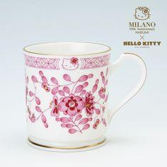 Narumi Milan Hello Kitty A Mug Cup Box Set Red Sanrio Japan Limited | eBay