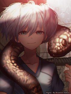 Nagisa Shiota, Arte, Art, Ansatsu Kyoshitsu,Trap, Androgynous, Androgino, Anime boy, Belleza, Assassination Classroom