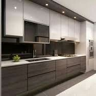 Sleek and modern cabinets <3