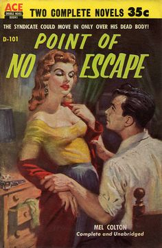 Point of No Escape (1955) by Book Covers: Vintage Paperbacks, Mars Sci-Fi, via Flickr