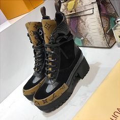 Louis Vuitton Boots, Closet Essentials, Baddies, Combat Boots, Kicks, Chanel, Footwear, Heels, Stuff To Buy