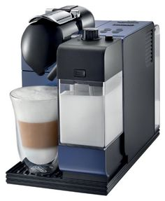 DeLonghi Blue Lattissima Plus Nespresso Capsule System > See this awesome image  : Coffee Maker