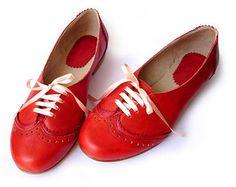 Acordonado Chraol White. Zapato oxford mujer. Hecho por QuieroJune