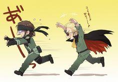 Tags: Anime, Metal Gear Solid, Big Boss, Kazuhira Miller