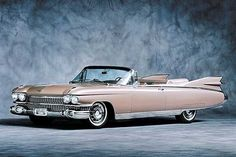 Cadillac Eldorado cabriolet 1959 | More here: http://mylusciouslife.com/stylish-home-luxury-garage-design/