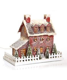 Ragon House Red Stone House | zulily
