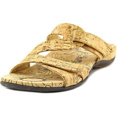 Vionic 44Lauren Women Open Toe Canvas Slides Sandal *** Amazing product just a click away  : Outdoor sandals