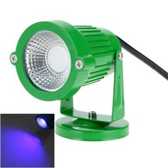 5.09$  Buy here - http://aius1.worlditems.win/all/product.php?id=L0469GR-BL - 8W 12V AC DC IP65 Green Aluminum LED Lawn Spot Light Lamp High Power RGB Warm/Nature White Outdoor Pond Garden Path Landscape Decor CE RoHs