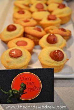 Corn Dog Muffins Toy Story Food Idea