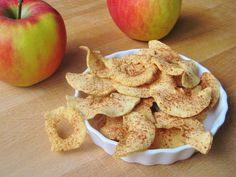 Appel chips gezond tussendoortje - apple chips healthy food