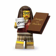 Amazon.com : Lego 71001 Series 10 Minifigure Librarian : Toy Interlocking Building Set Figures : Toys & Games