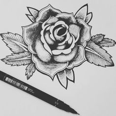 Fresh WTFDotworkTattoo Find Fresh from the Web My first proper design! Lines and dot work. ..really enjoyed doing this makes me determined to follow my dream! #iwannatattoo #blackAndWhite #dotwork #tattoo #rose #oldschooltattoo #lines #sketch #art #drawing chockiwocki WTFDotWorkTattoo