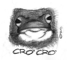 Le rane fanno CRO ' CRO'