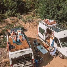 Bus Camper, Kombi Motorhome, Camper Van Life, Build A Camper Van, Van Conversion Interior, Camper Van Conversion Diy, Van Interior, Europa Camping, Wolkswagen Van