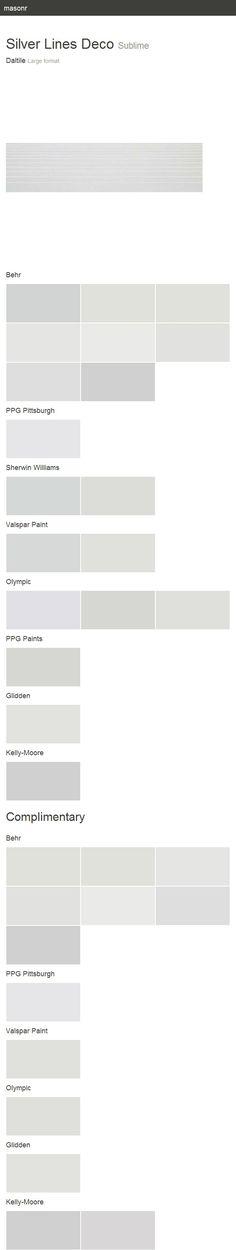 Silver Lines Deco. Sublime. Large format. Daltile.