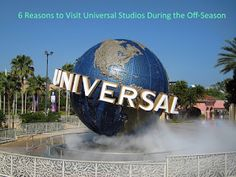 Racing Towards Retirement: 6 Reasons to Visit Universal Studios During the Of...