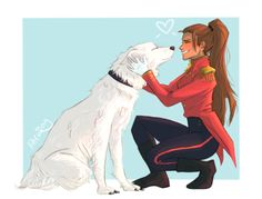 Marie Lu • itsiparwing: lots of love from the good pup! a...