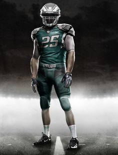 Nike Concept Jersey For The Eagles