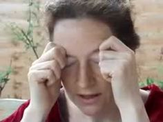 ▶ Eye Acupressure Massage for good eye health & stress release, natural face lift support - YouTube