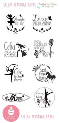 Regala sellos personlizados en la Primera Comunión! | tartas y nubes de azúcar