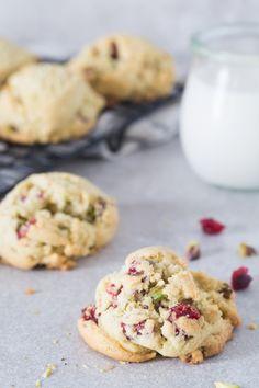Gluten free pistachio cranberry cookies | Eat Good 4 Life