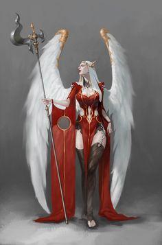 angel, Yacksa _ on ArtStation at https://www.artstation.com/artwork/aO3Zq