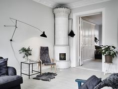 A beautiful Swedish home in calm, muted tones