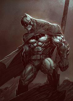 Long Live The Bat — The Dark Knight by Raciel Avila