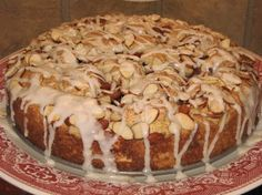 Coleen's Recipes: HOLIDAY BREADS    Sweet Cherry Coffee Cake