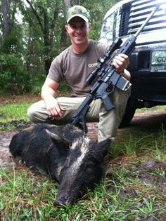 Hog hunting with .300 blk