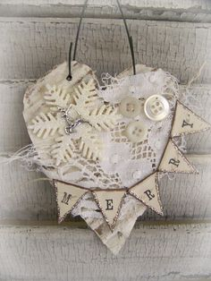 Handmade+Christmas+Ornament+Vintage+Lace+Ornament+by+QueenBe,+$11.50