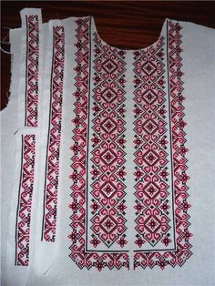 Cross Stitch Designs, Cross Stitch Patterns, Palestinian Embroidery, Designer Clothes For Men, Crochet Stitches, Embroidery Patterns, Embellishments, Needlework, Crochet Top