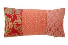 和テイストなKRAVET×MINTONコラボ生地ヴィンテージクッション #cushion #cushioncover #クッション #クッションカバー #ヴィンテージ #アンティーク #vintage