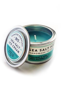 Sea Salt Ice Cream - Gaming Candle