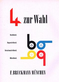 Gebrauchsgraphik Magazine, Aug. 1965 advertisement on back cover