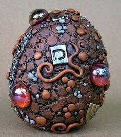 Steampunk Dragon Egg | Flickr - Photo Sharing!--what a gorgeous idea. Technology plus magic dragons..