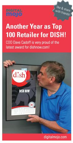 We made Top 100 Retailer for #DISH again!