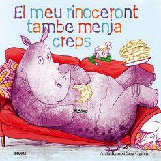 Mi rinoceronte también come crepes (Anna Kemp y Sara Ogilvie) Oliver Jeffers, Crepes, Daisy, Rhinoceros, Roald Dahl, Early Literacy, Children's Literature, Conte, Funny Stories